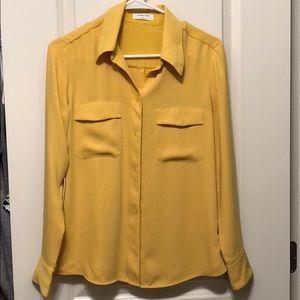 Aritzia Babaton Harrison blouse/shirt size S
